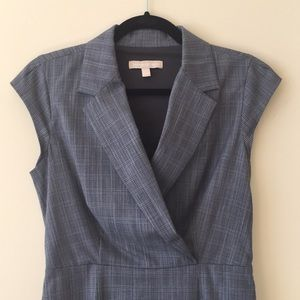 Banana Republic Plaid Sheath Dress